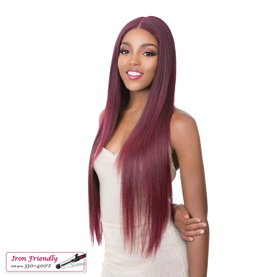 ANNABELLE - Lace Front Wig long straight hair